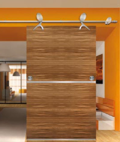 Amba Skater Trolley Wood Sliding Door Hardware
