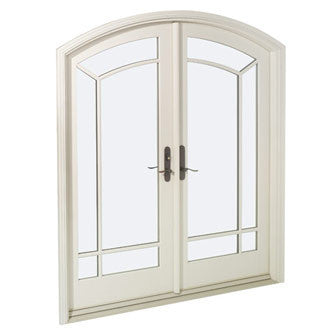 Marvin Made to Order New Construction Arch Top French Door