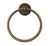 RK International BEAE 5- Beaded Bell Base Towel Ring