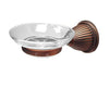 RK International BEDC 6- Beaded Bell Base Soap Dish