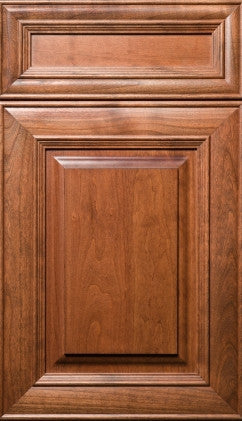 Plain and Fancy Cabinets Square Raised panel- Madrid Cherry in Sienna