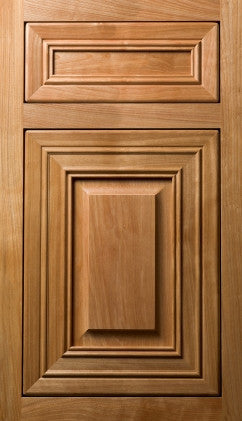 Plain and Fancy Cabinets Square Raised panel- Berkshire Red Birch in Natural