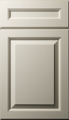 Plain and Fancy Cabinets Square Raised panel- Lakeview Special Maple in Dove White