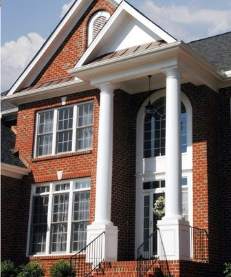 Caulk & Walk Seamless White Columns