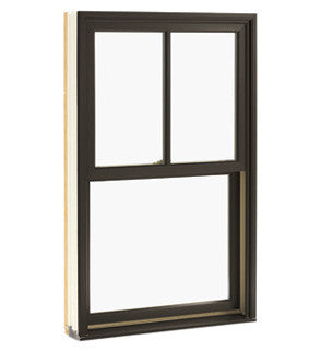Integrity double hung bronze exterior