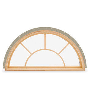 Integrity New Construction Round Top Window