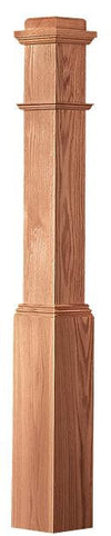 L.J.  Smith - Stair part  LJ-4091 — Traditional Style Box Newel