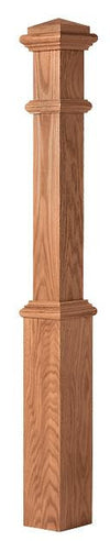 L.J.  Smith - Stair part  LJ-4391 — Box Newel w/Interchangeable Cap