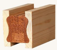 L.J.  Smith - Stair part  LJ-6A10BM — Pine Bending Mould