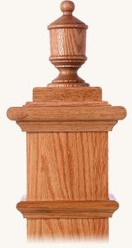 L.J.  Smith - Stair part  LJ-9009 — Lighthouse Finial for Box Newels