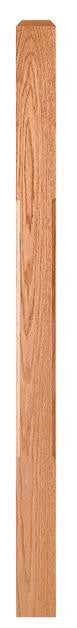 L.J.  Smith - Stair part  LJC-4110 — Chamfered Edge Craftsman Newel