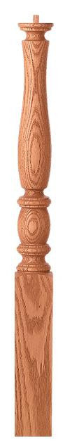 L.J.  Smith - Stair part  LJP-3310 — Challis Shortest Utility Newel