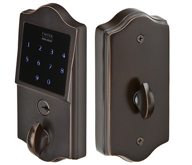 Emtek Electronic Touch Screen Deadbolt