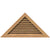 Pitched Triangular Gable Louver Unit
