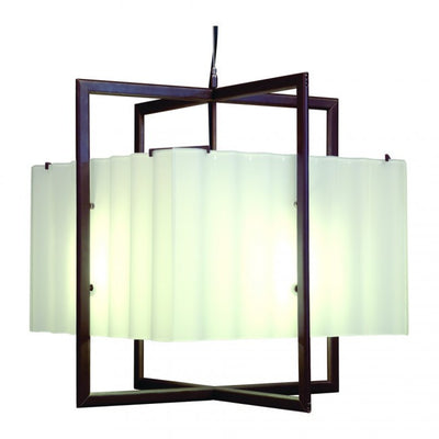 Rocky Mountain Cube Chandelier-Corrugated Box C400CB