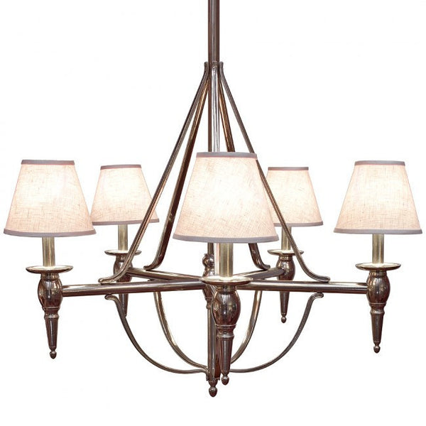 Rocky Mountain Five-Arm Towne Chandelier C500