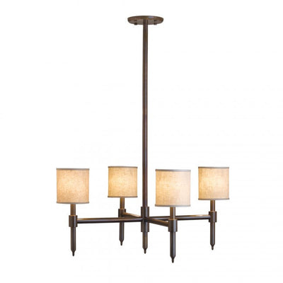 Rocky Mountain Custom 4-Arm Chandelier