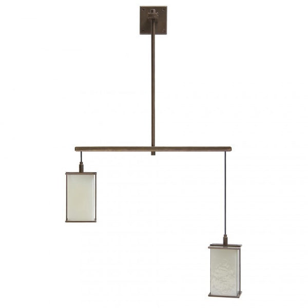 Rocky Mountain Custom Double Light Pendant