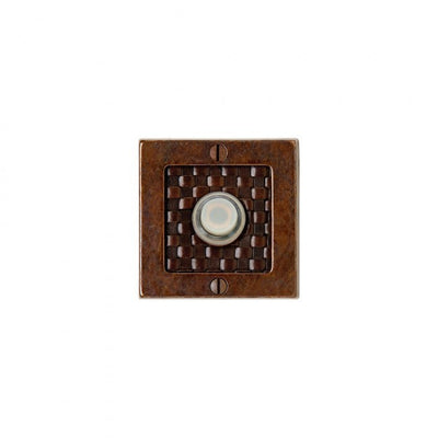 Rocky Mountain Square Designer Doorbell Button DBB-E103