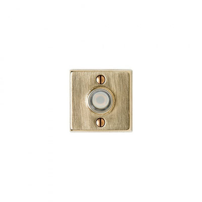 Rocky Mountain Square Metro Doorbell Button DBB-E204