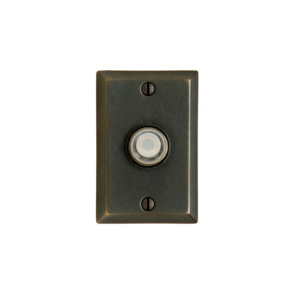 Rocky Mountain Rectangular Doorbell Button DBB-E400