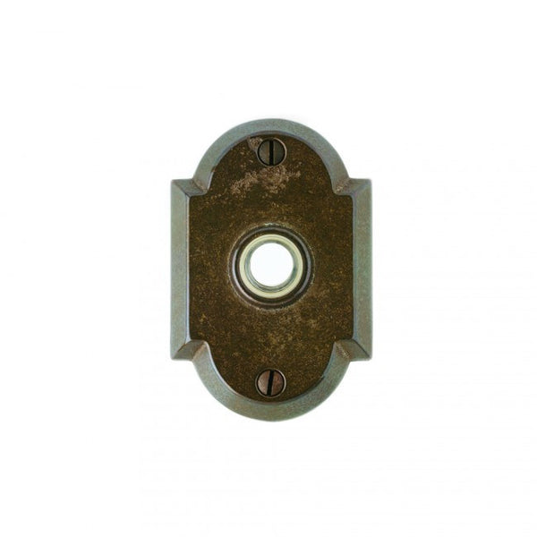Rocky Mountain Arched Doorbell Button DBB-E700