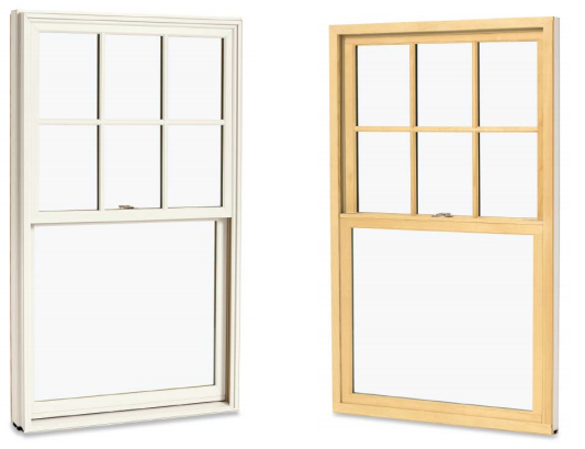 Integrity Insert Double Hung Window Grand Banks Building