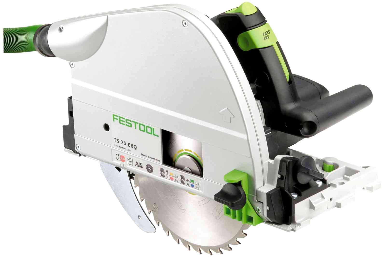 Festool Plunge Cut Track Saw TS 75 EQ-F-Plus-FS - 575390