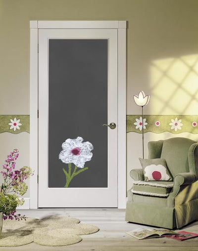JELD-WEN Magnetic Chalkboard Molded Wood Composite All Panel Interior Door