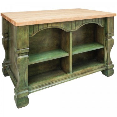 Hardware Resources Tuscan Kitchen Island
