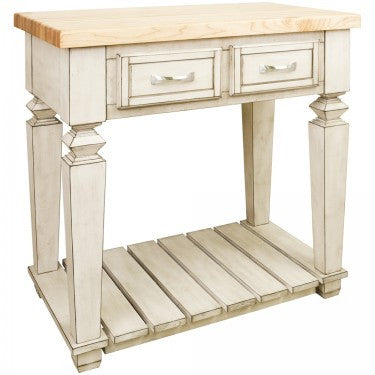 Hardware Resources Bungalow Petite Kitchen Island