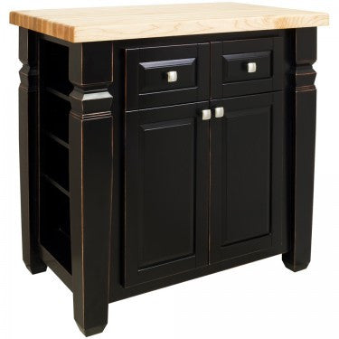 Hardware Resources Loft Kitchen Island