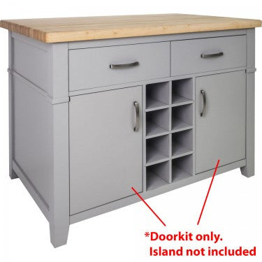 Hardware Resources Conversation Kitchen Island Doorkit