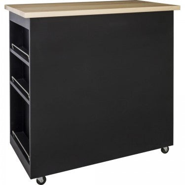 Hardware Resources Cart Island w/ Wood Top