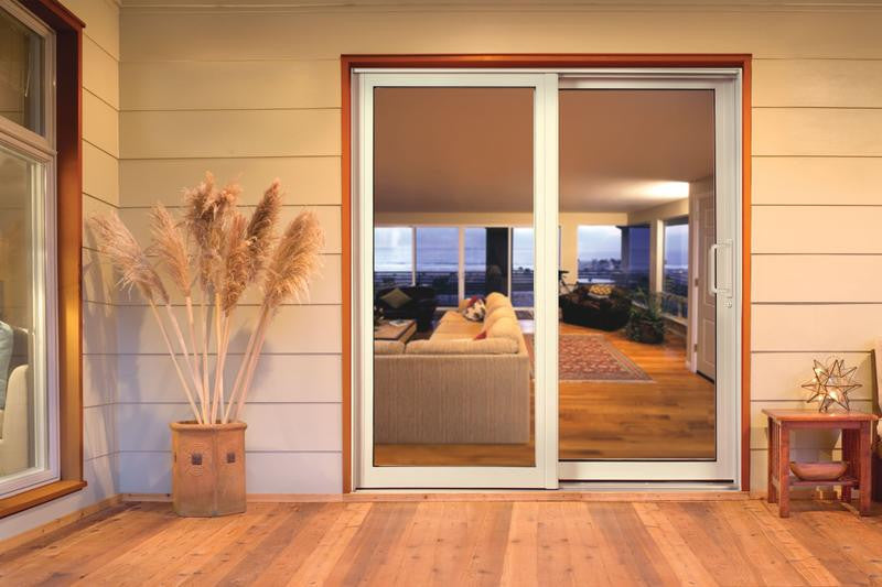 JELD WEN Premium Aluminum Sliding Patio Door