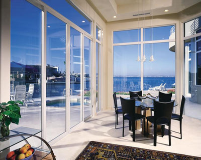 JELD-WEN Premium Aluminum Sliding Patio Door