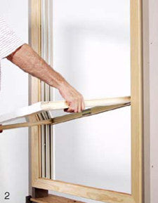 Marvin Made to Order Double Hung Tilt Pac