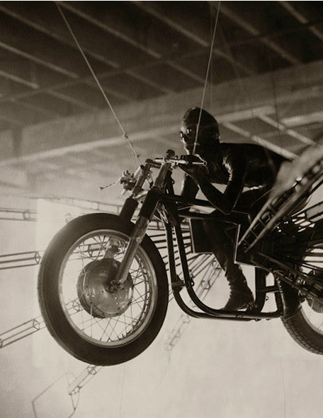 Bill Phelps . 1953 . Norton Featherbed - Galleria del Vento - 1