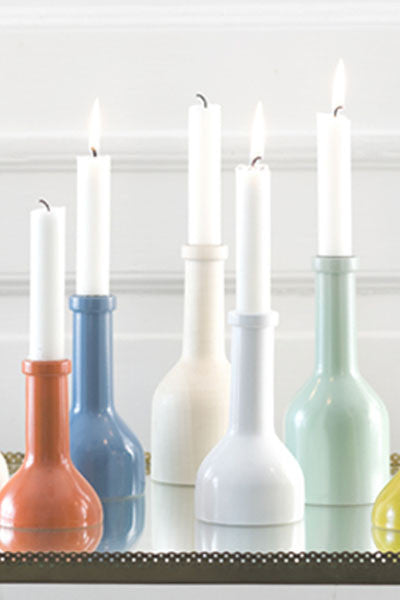 Winebottle Candleholder Medium - Galleria del Vento - 1