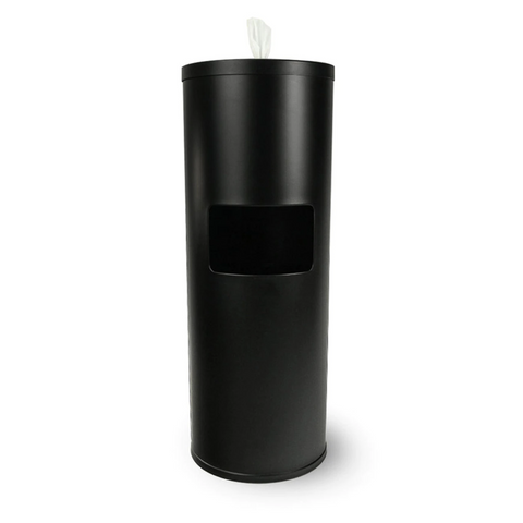 Stainless Steel Dispenser (Black)