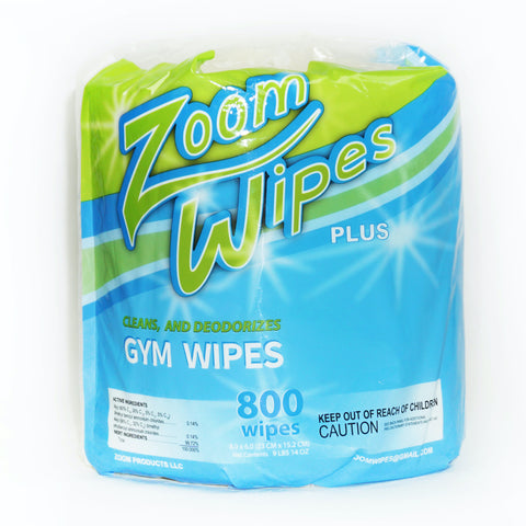 Zoom Wipes Plus (4 rolls, 800 wipes per roll)