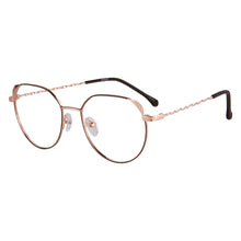 Load image into Gallery viewer, Metal Frames Clean Lens Anti Blue Light Reading Glasses- 372