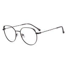 Load image into Gallery viewer, Metal Frames Clean Lens Anti Blue Light Myopia Glasses- 372