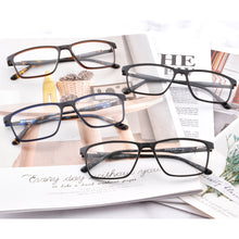Load image into Gallery viewer, Titanium Frames Clean Lens TR90 Blue Light Blocking Computer Glasses- 6118