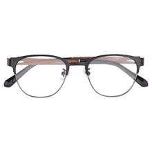 Load image into Gallery viewer, Wooden Frame Clean Lens Blue Light Blocking Computer Glasses- 8008