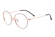 Load image into Gallery viewer, Round Frames Clean Lens Anti Blue Light Myopia Glasses- 80136