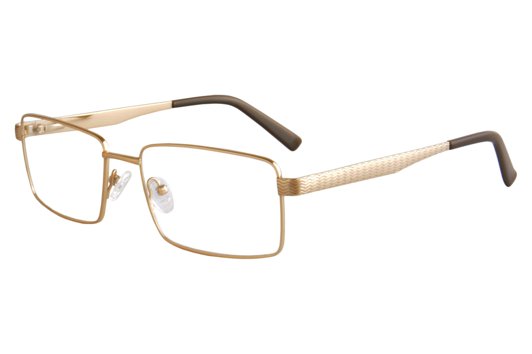 Titanium Frames Clean Lens Anti Blue Light Reading Glasses- 82011