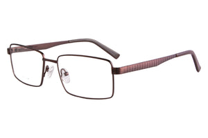 Titanium Frames Clean Lens Anti Blue Light Myopia Glasses- 82011