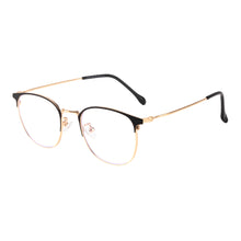 Load image into Gallery viewer, Round Metal Frames Clean Lens Anti Blue Light Progressive Multifocus Reading Glasses-9203
