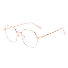Load image into Gallery viewer, Round Metal Frames Clean Lens Anti Blue Light Reading Glasses- 9217